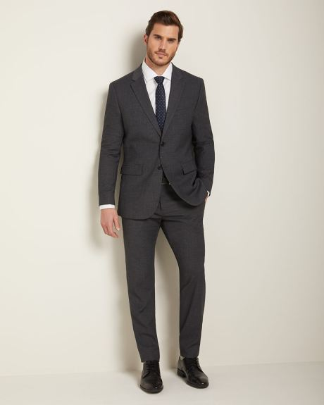 Essential Athletic Fit Dark heather grey suit Blazer