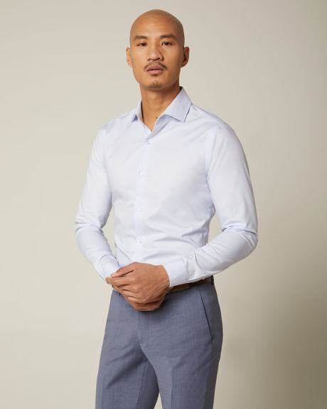 Slim fit pastel dress shirt - Short