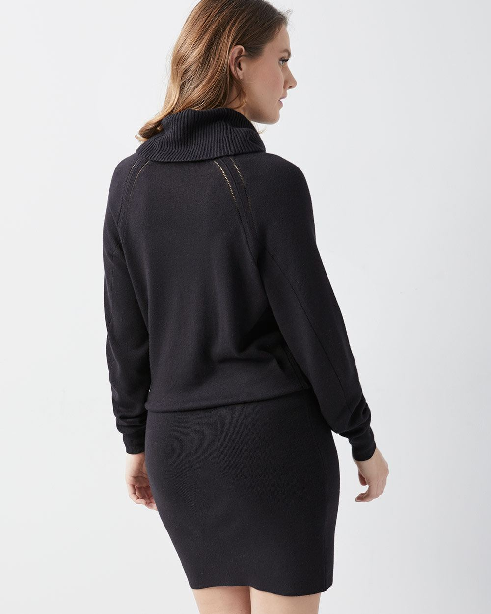 To acquire Sweater Neck dress picture trends