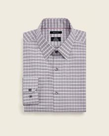 Slim Fit double check Dress Shirt