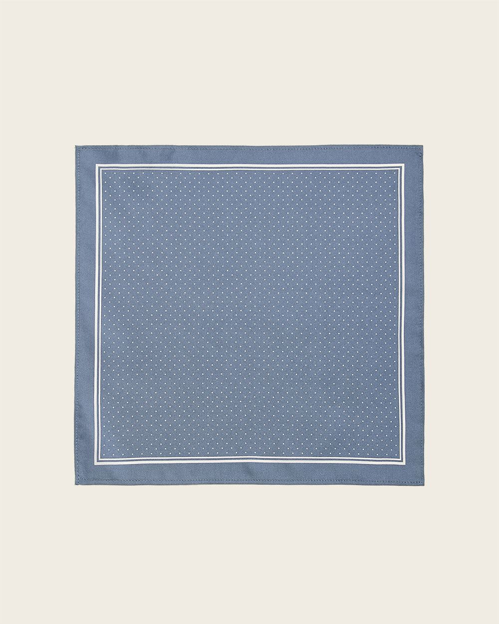 Dotted pastel pocket square