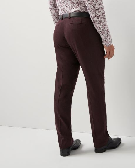Athletic fit twisted yarn 40-hour pant