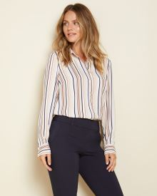 Long sleeve Button-down blouse