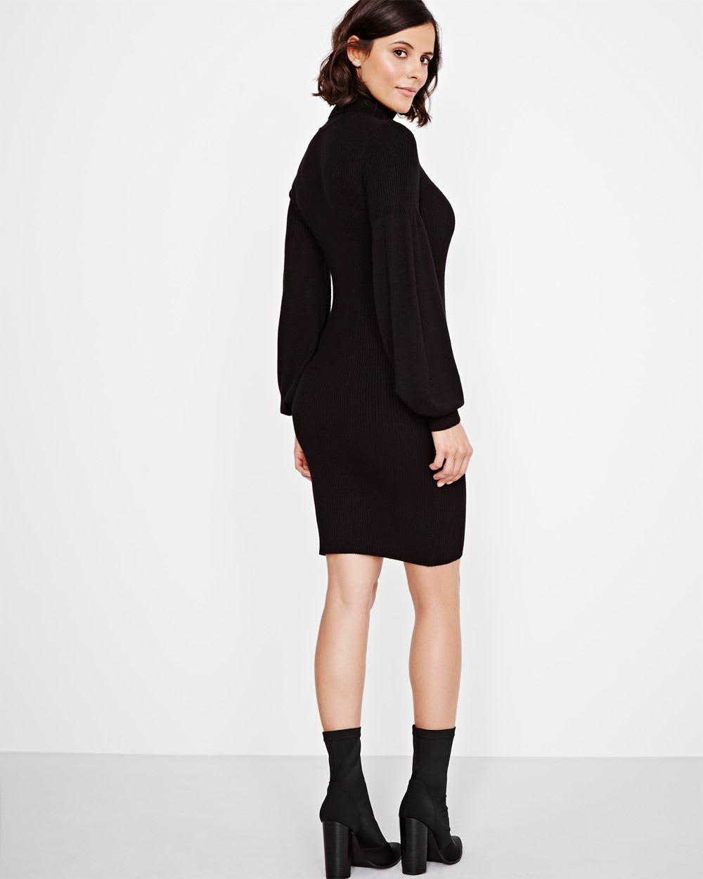Fitted Ribbed Sweater Dress | RWu0026CO.