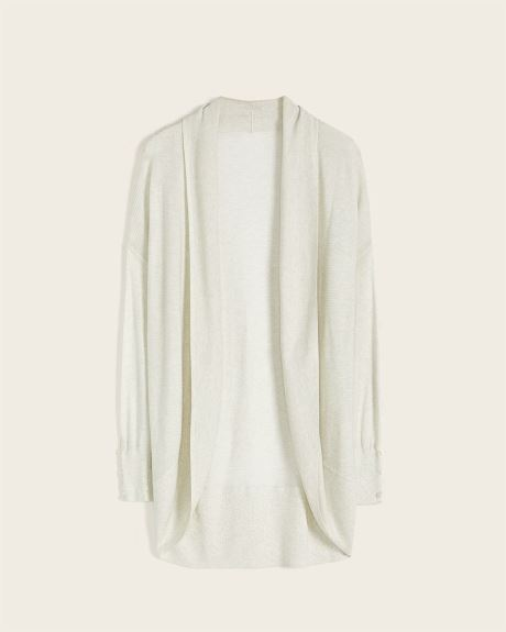 C&G Drop Shoulder Cocoon Cardigan