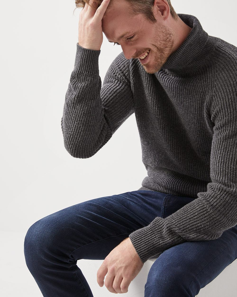 2a0481d2c08 Ribbed turtleneck sweater