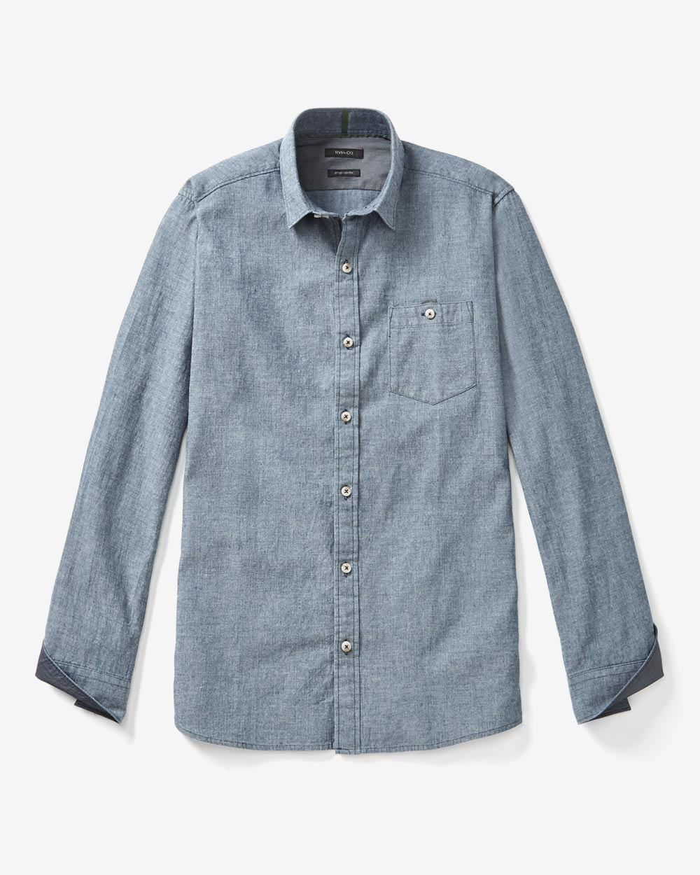 Chambray and denim button-up shirts are super soft and durable. Shop UNTUCKit's denim and chambray shirt collection today!