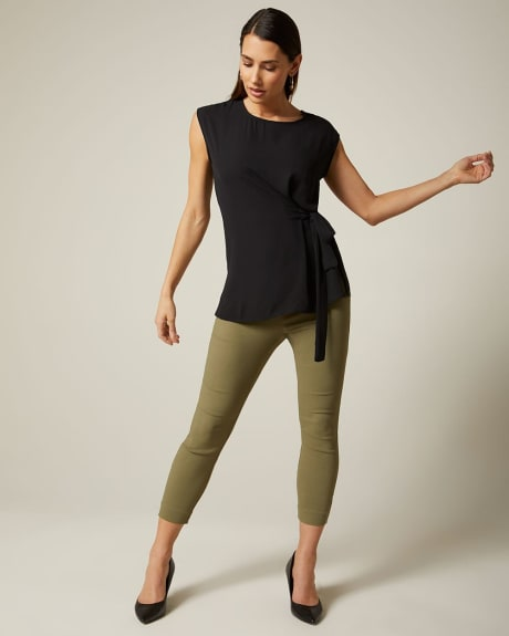C&G Coloured cropped City legging pant