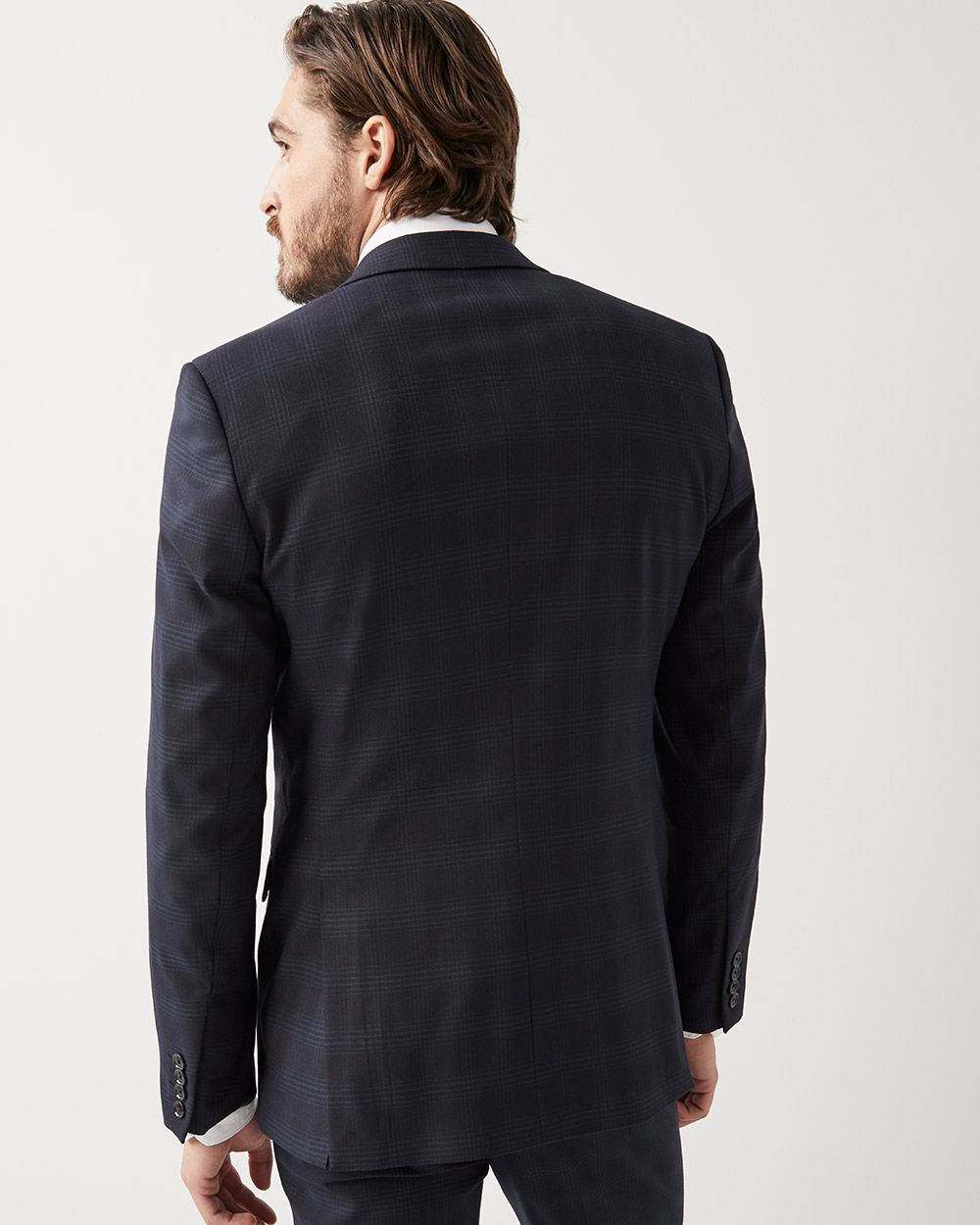Tailored Fit Tonal check suit Blazer - Tall