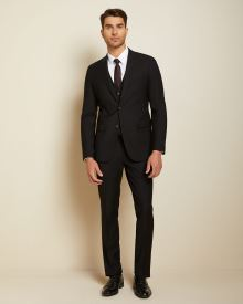 Essential Slim Fit wool-blend suit Pant - 30''