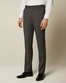 Essential Tailored Fit Dark Grey suit Pant - 34''