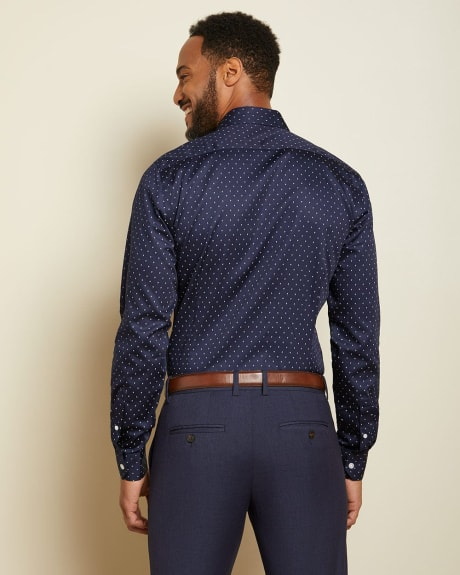 Slim Fit Geo pattern Dress Shirt