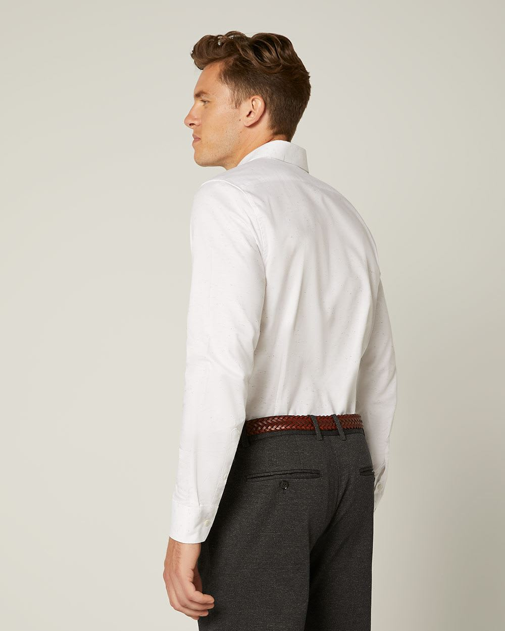 Slim Fit Nep Shirt