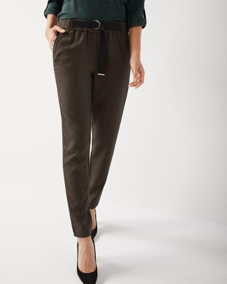 C&G Tapered leg pull-on ankle pant