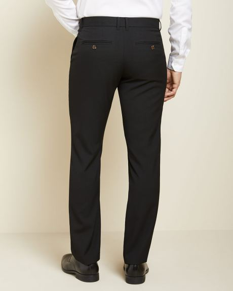 Tailored fit Black City Pant - 34''