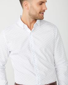 Tailored Fit fish clipping Dress Shirt