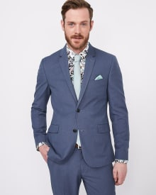 Slim Fit two-tone blazer