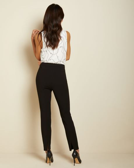Stretch High-waist Signature fit Slim Leg Ankle Pant