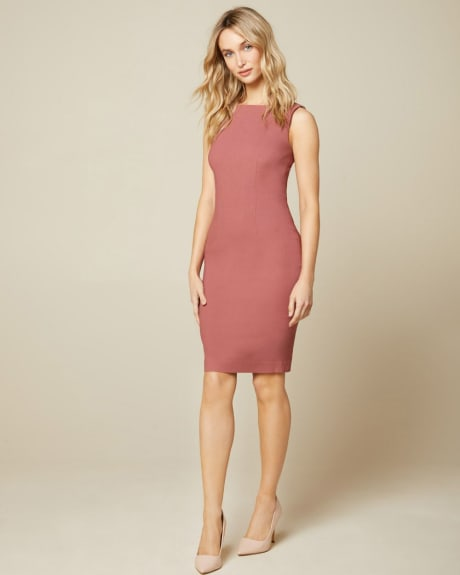 Solid Sheath City dress