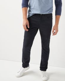 Slim fit brushed twill 5-pocket pant - 34''