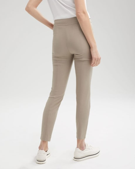 High-Waist Pintuck Legging Pant With Pocket - 28""