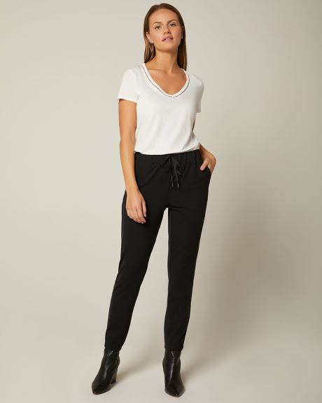 C&G 4-way Stretch Dressy jogger pant