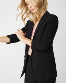 Long Loose-fit blazer