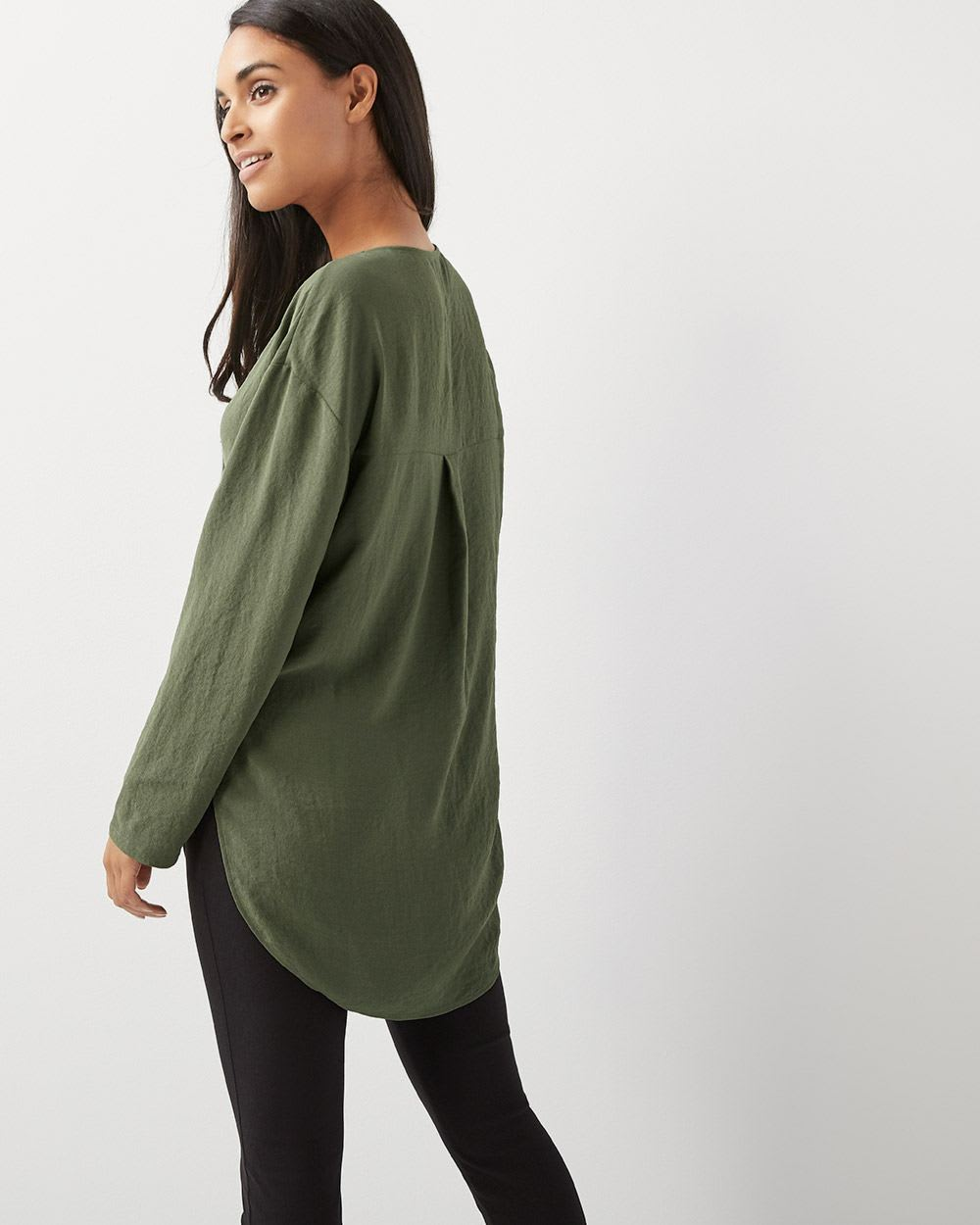 C&G Loose fit long sleeve blouse