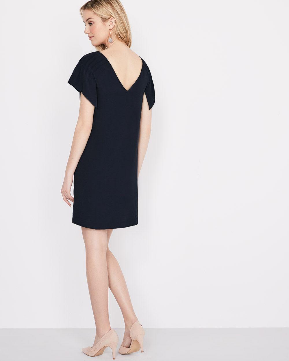 Shift dress with flowy sleeve | RW&CO.