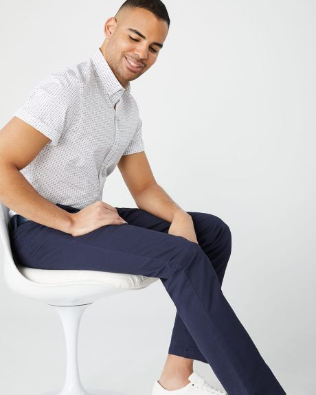 Athletic fit chino pant