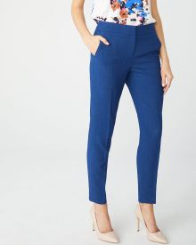Cobalt blue Curvy fit Slim Leg Ankle Pant