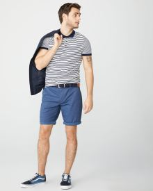 Two-tone Chino Short - 10.5""