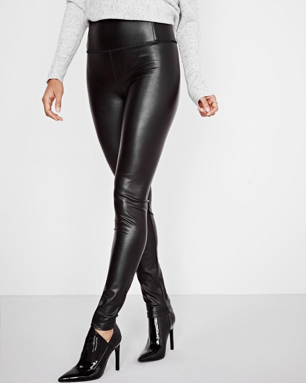 1f3453e6e31e Faux-leather leggings