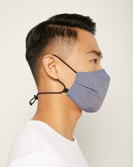 Adjustable 3-Layer Face Mask