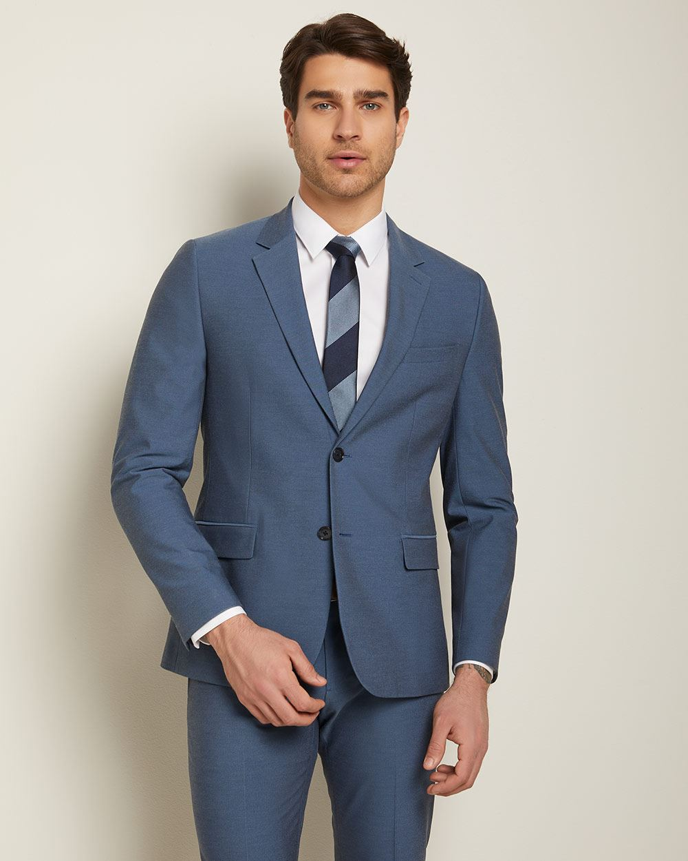 Slim Fit E-Tech (TM) suit Blazer