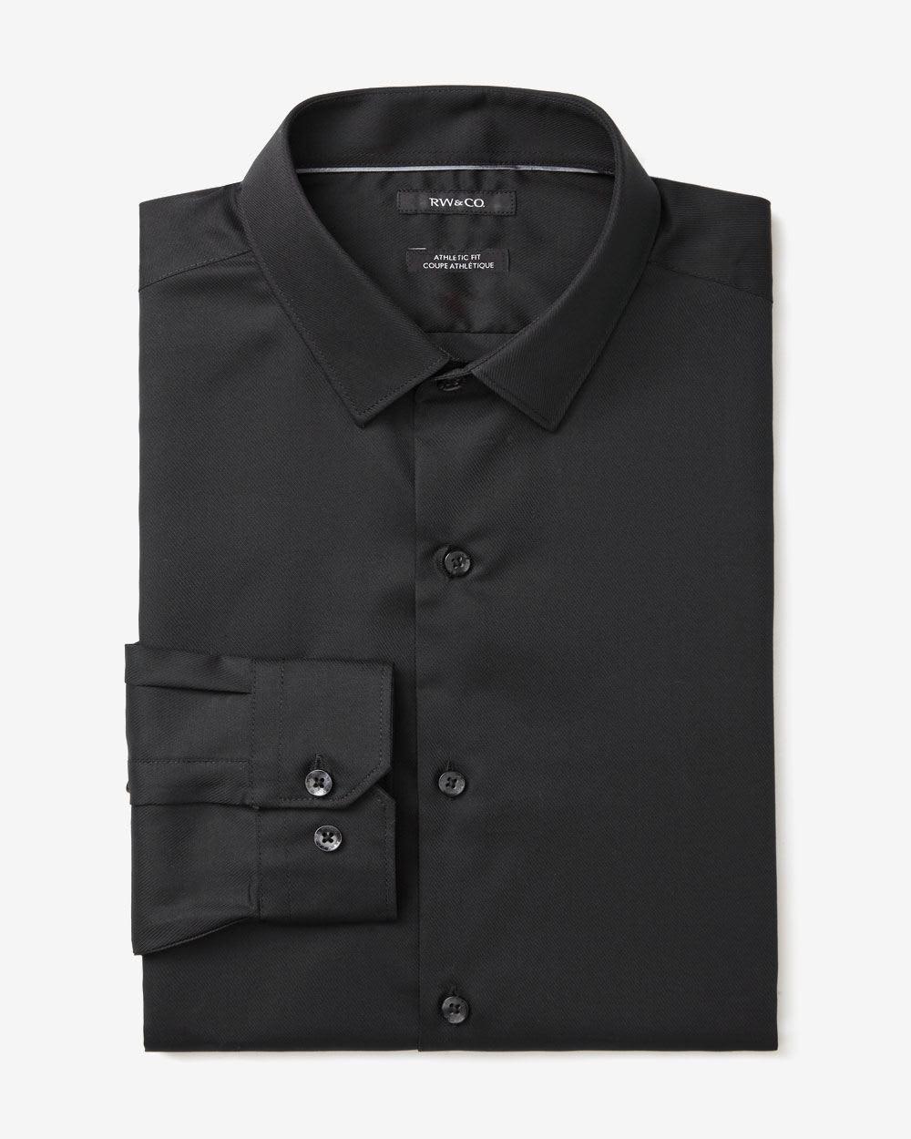 slim fit dress shirt regular rw co. Black Bedroom Furniture Sets. Home Design Ideas