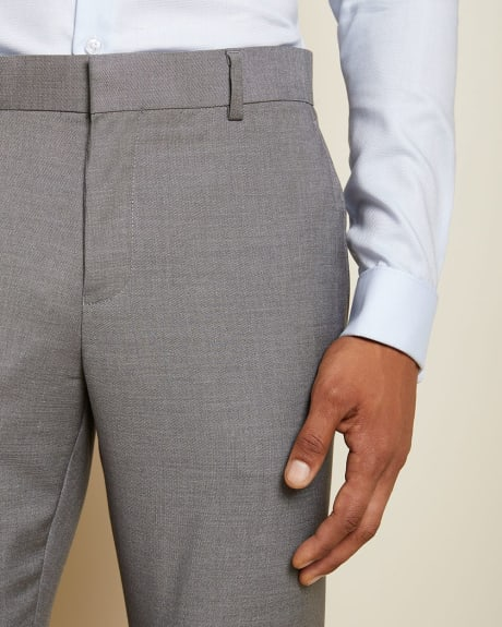 Essential Tailored Fit stretch light grey suit Pant