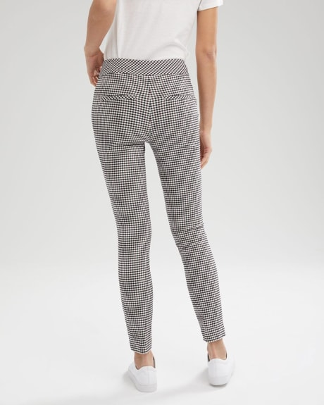 C&G Two-Tone Gingham City Legging Pant - 28""