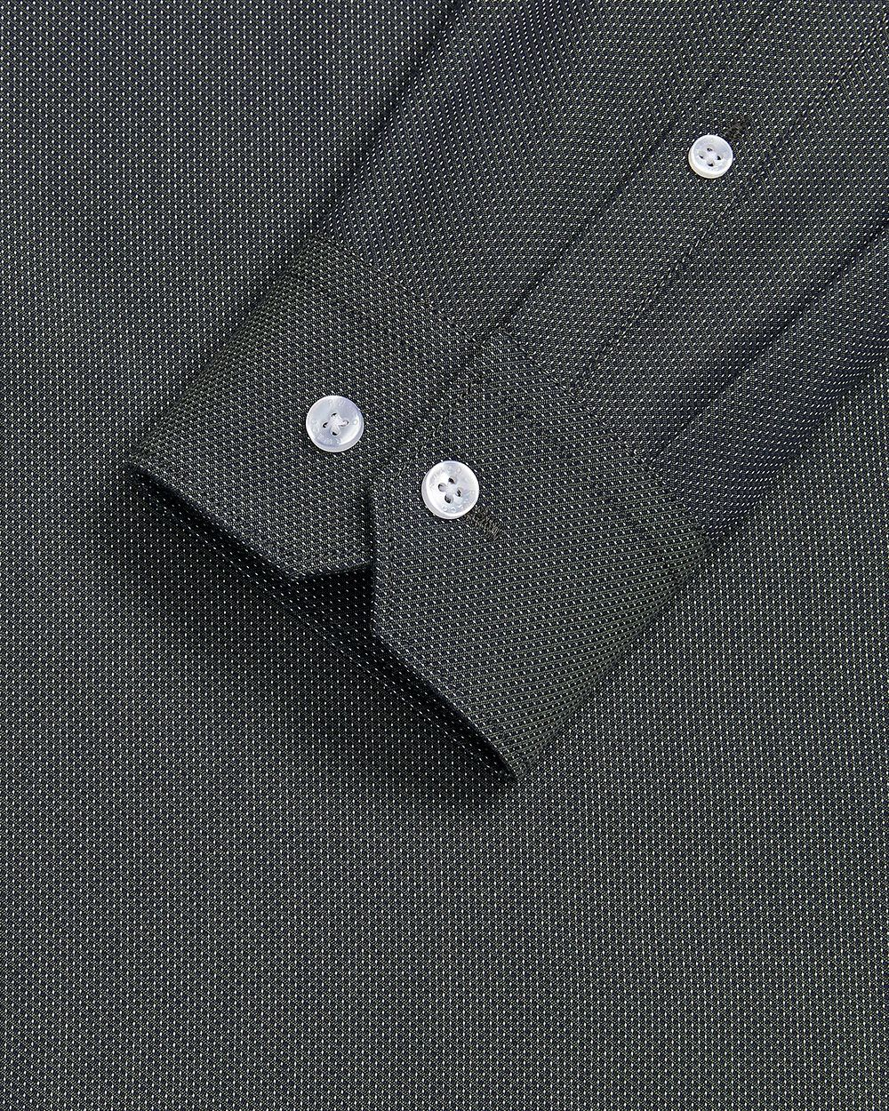 Slim Fit micro dot Dress Shirt