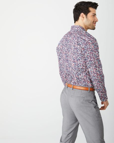 Athletic Fit multicoloured floral dress shirt