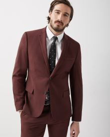 Slim Fit Deep Red Blazer