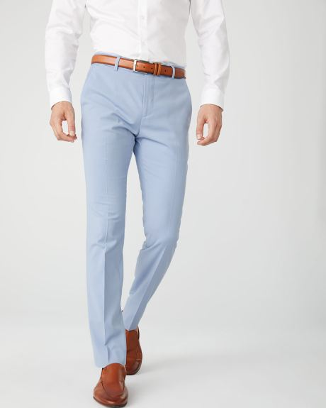Slim Fit Light blue suit pant