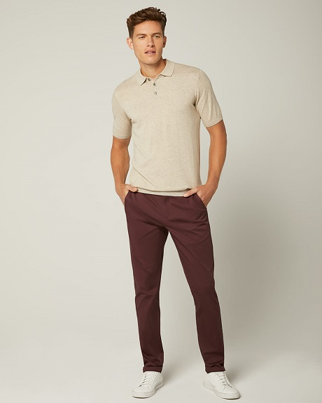 Laid-Back Polo Look