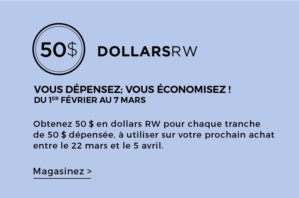 LES DOLLARS RW&CO.