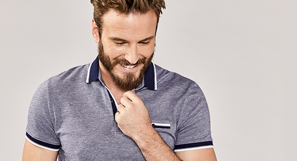 Select Men's Shirts, Polos & Shorts at $49.90