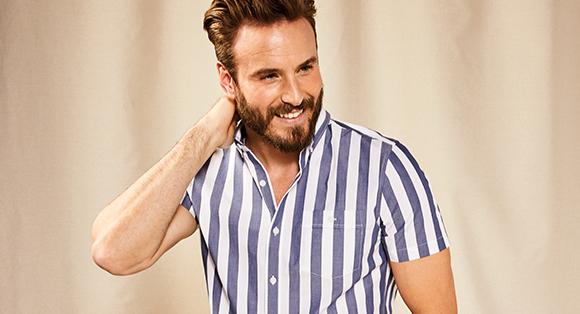 Select Men's Shirts, Polos & Shorts at $39.90