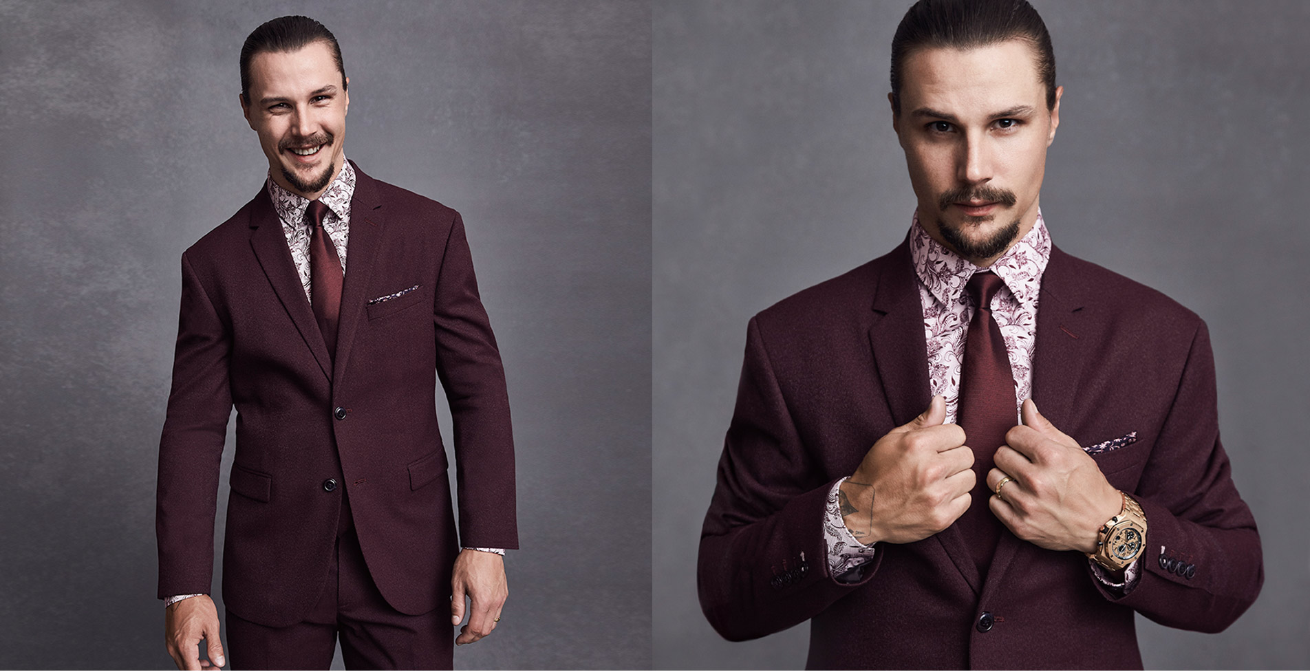 ERIK KARLSSON. One Man, Three Suits. Discover More!