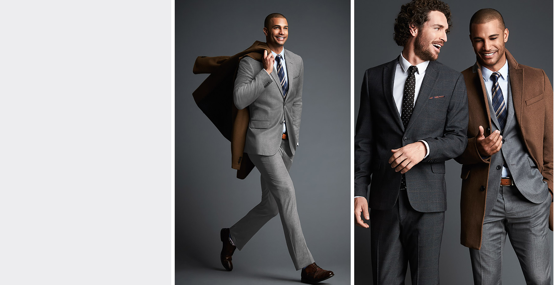 New in September - Blazers & made to move suits for this fall.