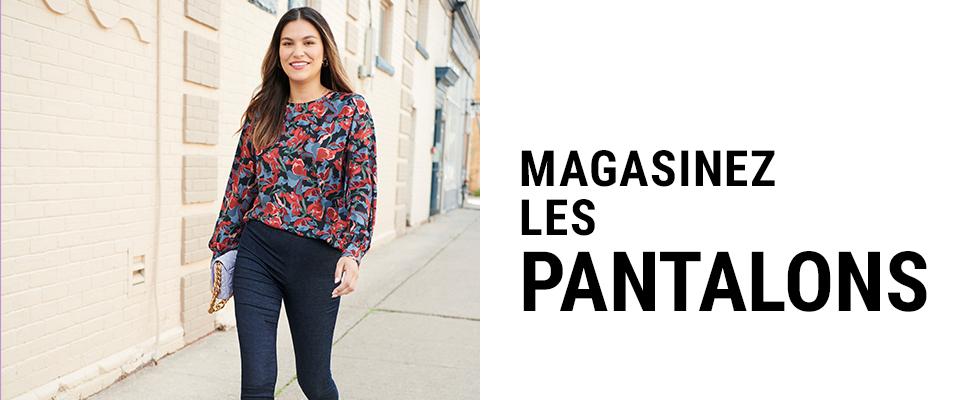 Magasinez pantalons