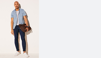 Shirts, Chinos & 5-Pocket Pants Buy 2 for $59.90 each